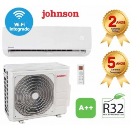 Split Aire Acondicionado 2279/2322 Kcal/h Inverter Clase A++/A+++ WI-FI JOHNSON