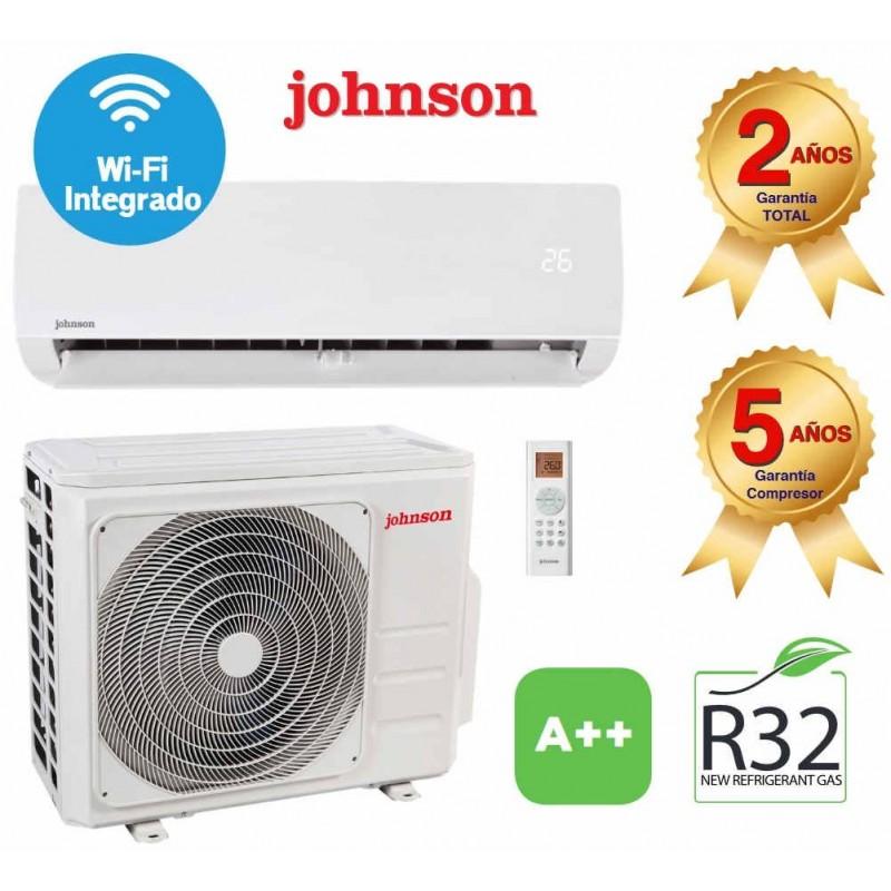 Split Aire Acondicionado 2279/2322 Kcal/h Inverter Clase A++/A+++ WI-FI JOHNSON