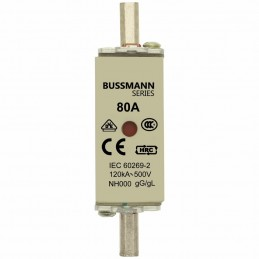 Fusible NH-000 80Amp