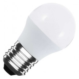 Bombilla esferica led G45 E27 5W luz natural