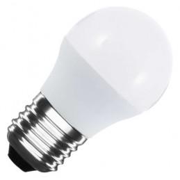 Bombilla led esferica G45 E27 5W luz calida