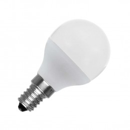 Bombilla led esferica G45 E14 5w luz natural