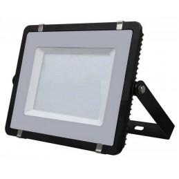 Proyector led 200w slim negro luz fria