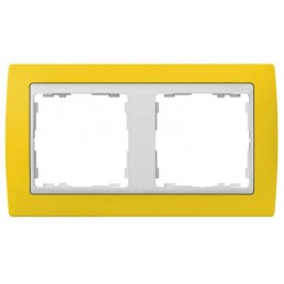 Marco 2 elementos amarillo...