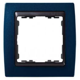 Marco 1 elemento azul...