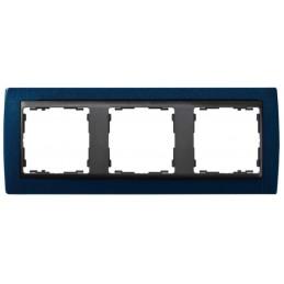 Marco 3 elementos azul...