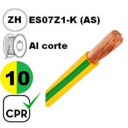 Cable flexible 1x10mm2...