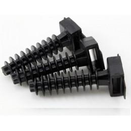 Taco negro 6mm PVC para...