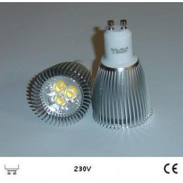 LAMPARA DICROICA LED 9W 230V GU10 SOLBRIGHT