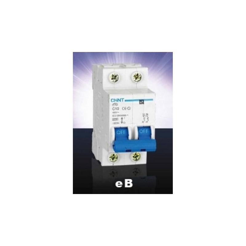 Magnetotermico 2P 40A Chint eB-2-40C6