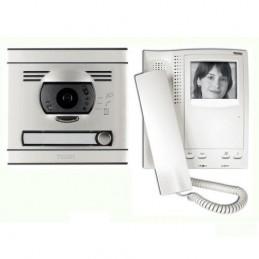 Kit Videoportero Blanco y Negro 1 Linea Convencional Tegui 375021