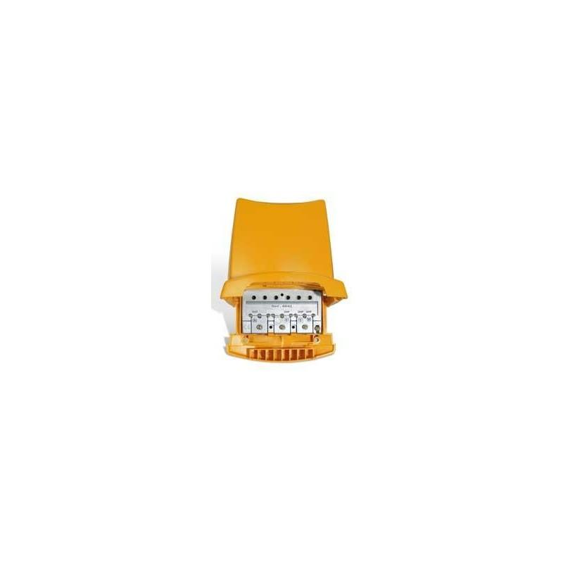 Mezclador terrestre mastil 3 entredas VHF UHF UHF (DC) Televes 4041