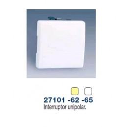 Interruptor unipolar ancho blanco Simon 27101-65