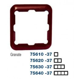 Marco 1 elemento granate Serie 75 Simon 75610-37