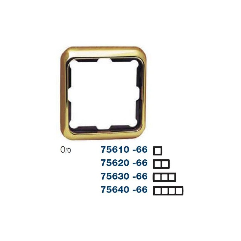 MARCO 2 ELEMENTOS ORO SIMON 75620-66