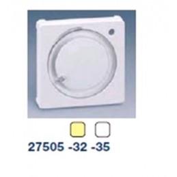 Tecla para termostatos ancha marfil Simon 27505-32