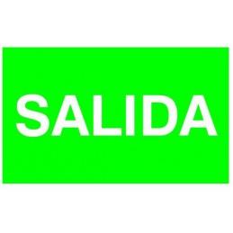 Etiqueta Adhesiva SALIDA Normalux N-S