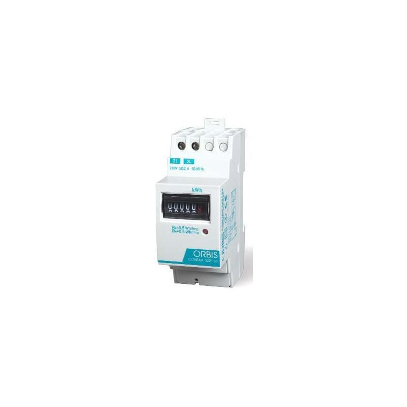 Contador de energia monofasico 230V 32Amp Orbis Contax 3221 S0
