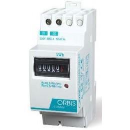 Contador de energia monofasico 230V 65 Amp Orbis Contax 6521 S0