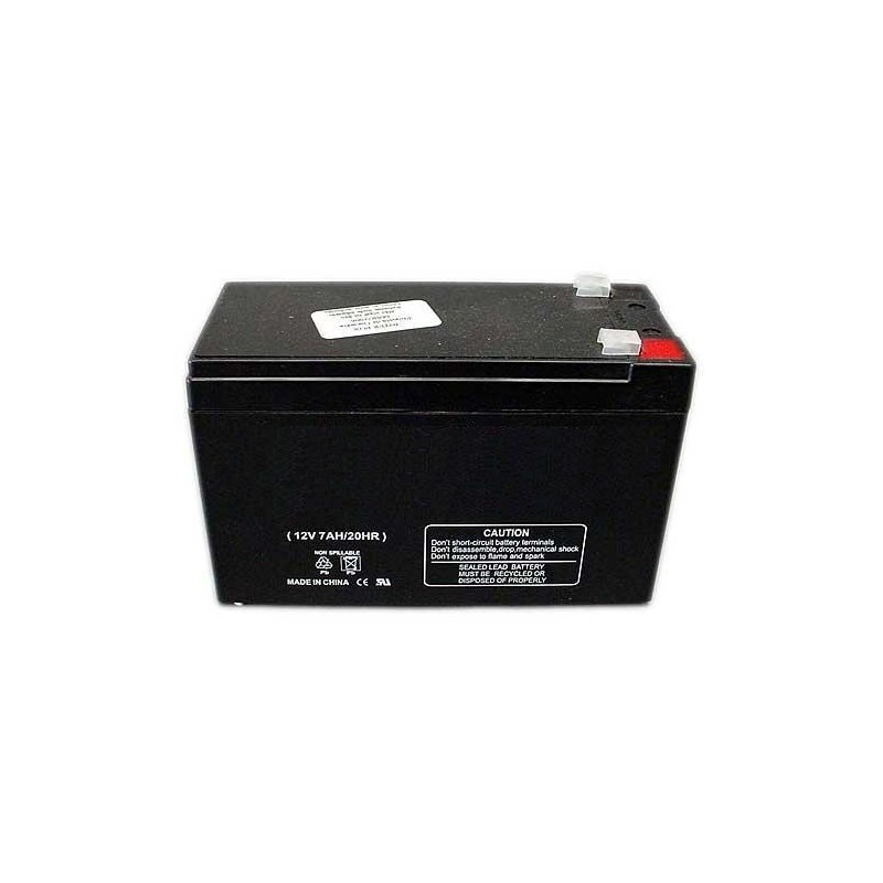 Bateria de plomo recargable 12V 7Amp 20HR