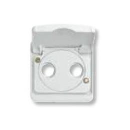 Tecla toma TV-R SAT ancha blanca Niessen 8750.1BA