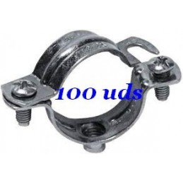 100 Abrazaderas metalicas 25mm NOKE Apolo 925NK