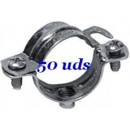 Abrazaderas metalicas para tubo 40mm NOKE Apolo 940NK Caja 50 Unidades