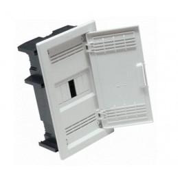 Caja ICP empotrar 6 elementos precintable puerta opaca Seavi 23098