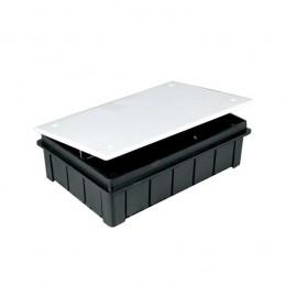 Caja registro empotrar 150x100x50mm con tapa Seavi