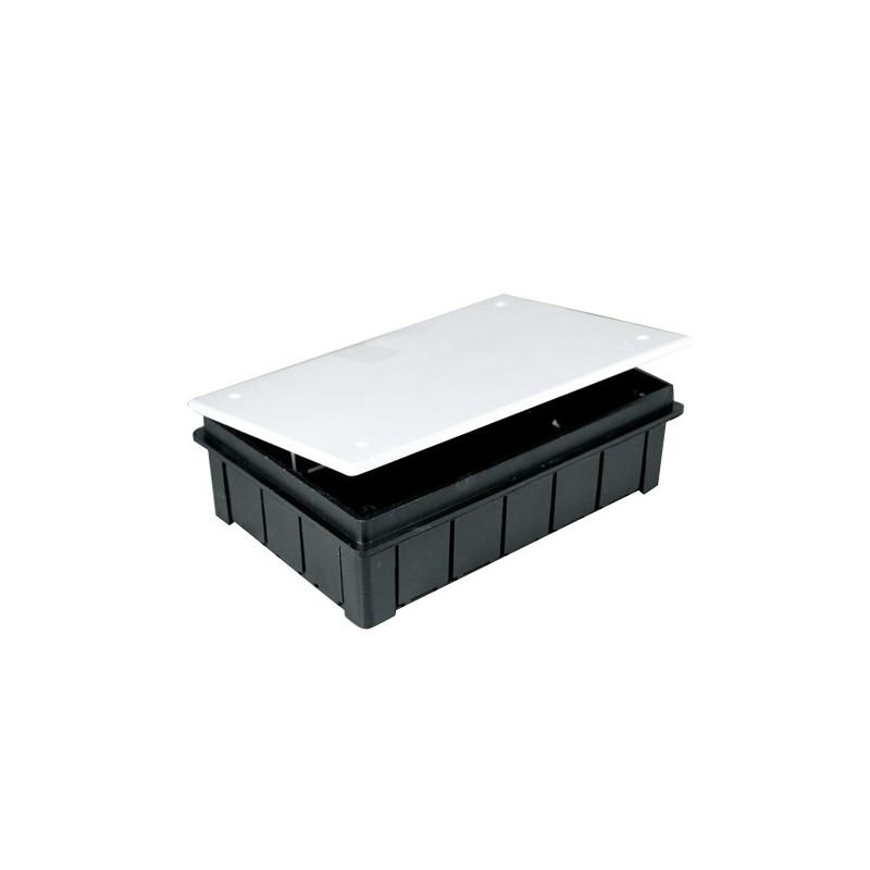 60 Cajas de registro de empotrar 150x100x50mm con tapa Seavi
