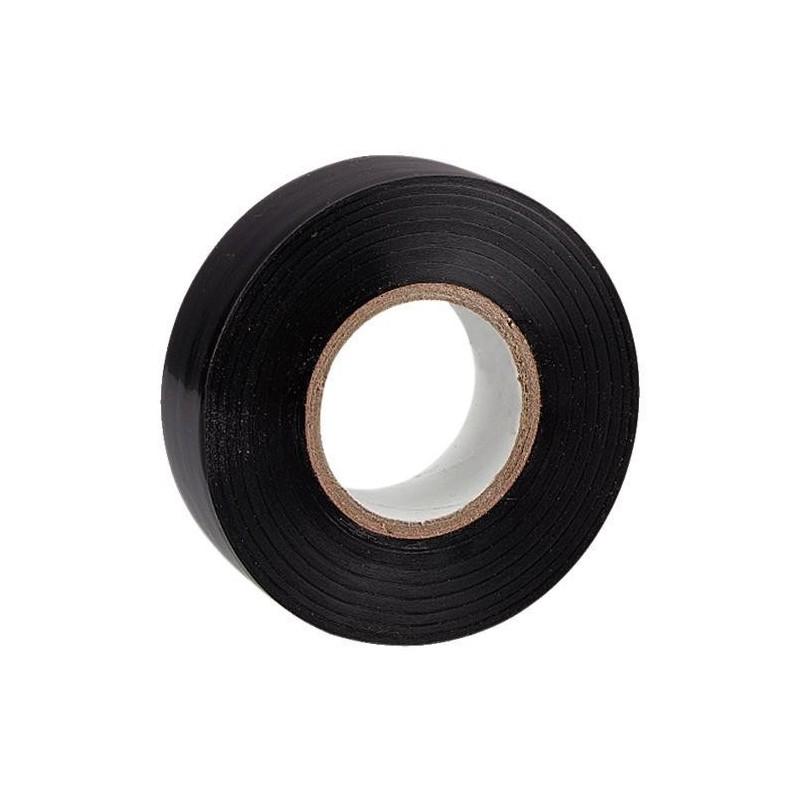 Cinta aislante adhesiva negra 20 m x 19 mm