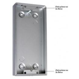 Caja superficie 3 modulos 1 columna 169x362x60mm Tegui 0E4103