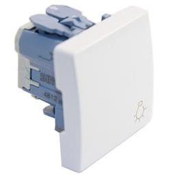 Pulsador simbolo luz ancho blanco Simon 27151-65