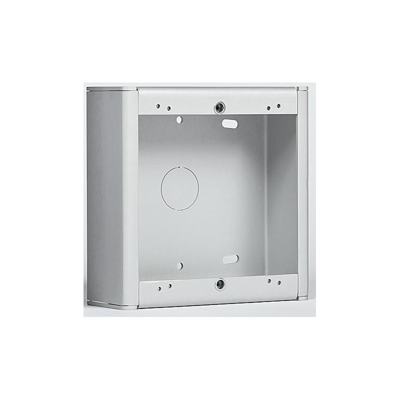 Caja de superficie 1 modulo 1 columna 133x133x52mm Tegui 375271