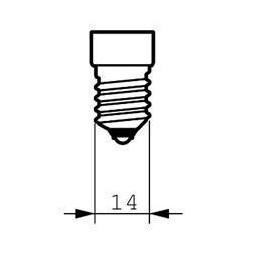 Bombilla fluorescente bajo consumo 11W 230V E14 6500K Luz Blanco Frio Philips 80257610