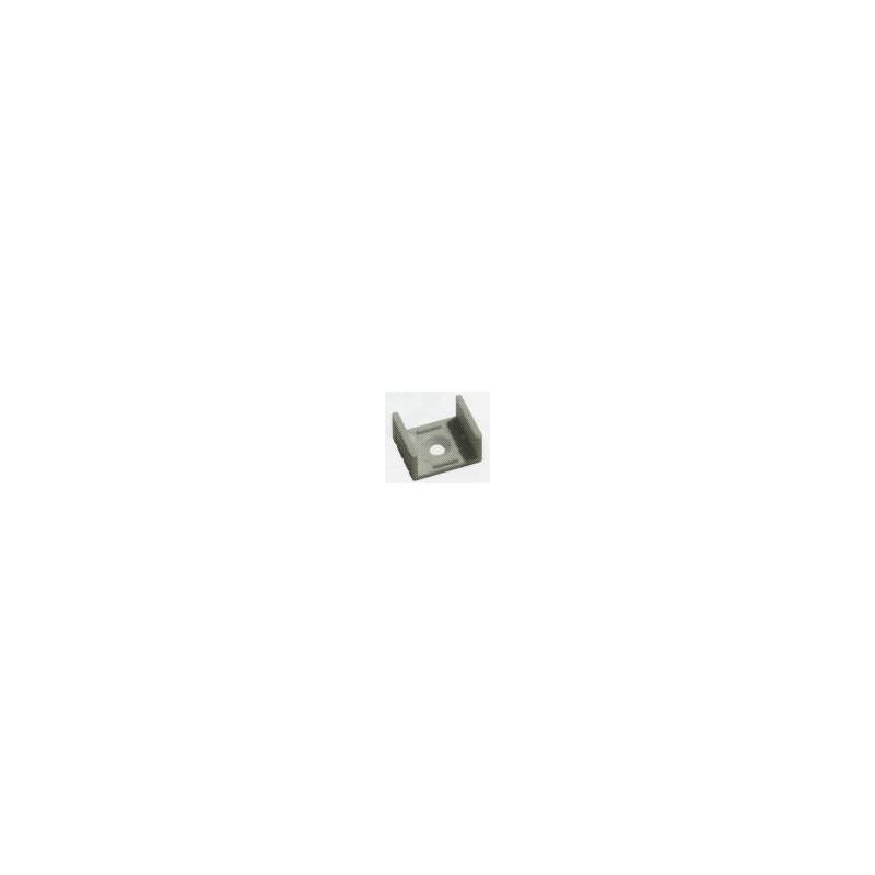 Soporte para fijar perfil de aluminio de superficie Agfri 15242