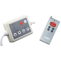 Controlador RGB para tiras LEDS RGB 12-24V 4A/Canal con mando a distancia Agfri 15341
