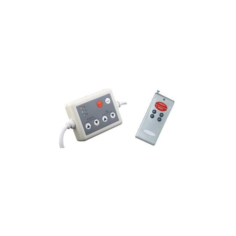Controlador para tiras de led RGB con mando a distancia Agfri 15401