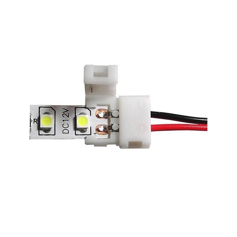 Conector inicio para tiras de leds SMD 5050 Agfri 15292