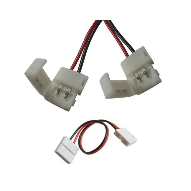 Conector empalme para tiras de leds SMD 3528 Agfri 15283