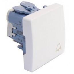 Pulsador simbolo campana ancho blanco Simon 27150-65
