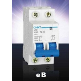 Magnetotermico 2P 63A Chint NB1-2-63C
