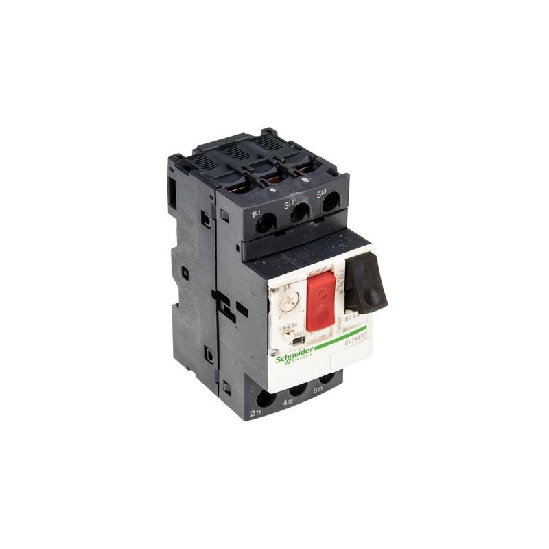 Disyuntor Guardamotor regulable de 1 a 1,6Amp GV2ME06 Telemecanique