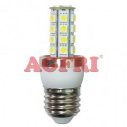 Bombilla led panocha 5w 230v e27 450lum luz blanco calido 2900-3100k Agfri 4033