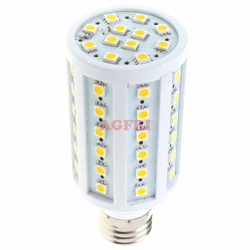 Bombilla led panocha 10w 230v e27 1020lum luz blanco frio 5700-6000k Agfri 4091
