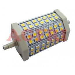 Bombilla led 10w 230v R7s 118x54mm 714lum luz blanco calido 2900-3100K Agfri 09043
