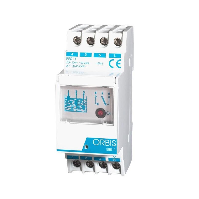 Rele EBR-1 control nivel de liquidos electronico modular Orbis