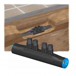 Manguito MTP-150 bimetalico redes subterraneas BT 95-150mm2 Niled