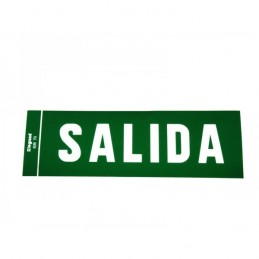 Etiqueta adhesiva SALIDA para luz emergencia Legrand 060970