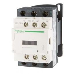 Contactor riel 3 polos 9Amp 1NA 1NC 400V Telemecanique LC1D09V7
